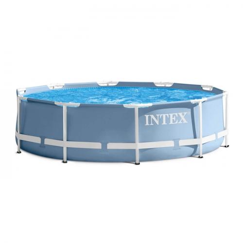Бассейн каркасный круглый + фильтр-насос Intex 366х76 см (28712)