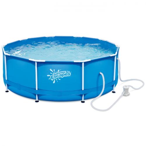 Бассейн каркасный круглый Summer Escapes 305х106 см (Р20-1042)