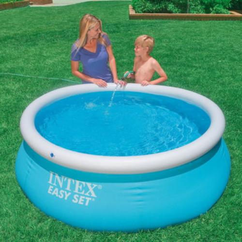 Бассейн с надувным верхним кольцом Intex 183х51 см (28101)