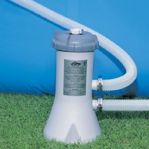 Картриджный фильтр-насос Intex 28638 3785 л/ч, картридж А, для бассейнов от 457 до 488 см