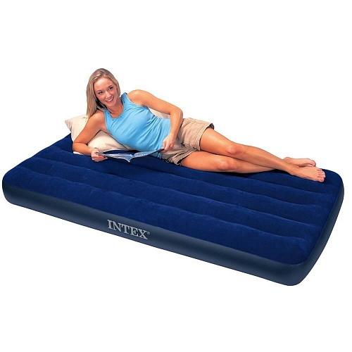 Матрас надувной односпальный Intex 76х191х22 см (68950)