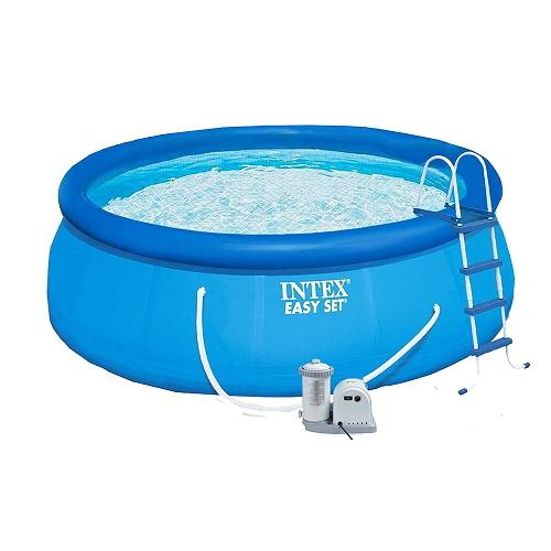 Надувной бассейн с надувным верхним кольцом Intex 457х122 см (28168)