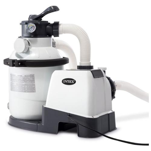 Песочный фильтр-насос Intex Krystal Clear, 4,5 м3/ч, резервуар для песка 12 кг (26644)