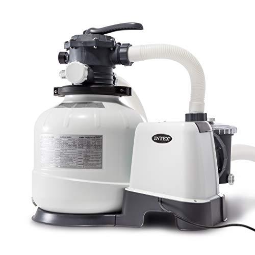 Песочный фильтр-насос Intex Krystal Clear, 10,5 м3/ч, резервуар для песка 35 кг (26648)