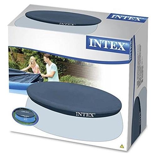 Тент для бассейна с верхним надувным кольцом Intex 305 см (28021)