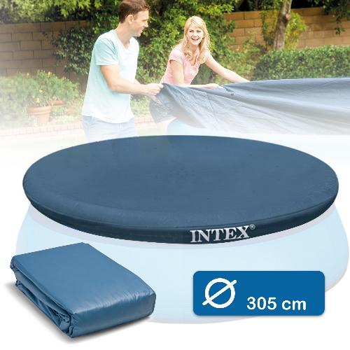 Тент для бассейнов с надувным бортом Easy Set Intex 28021 305 см