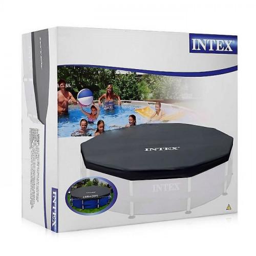 Тент для каркасного бассейна Intex 28031 Metal Frame 366см (D366х25см)