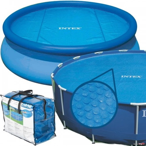 Тент солнечный прозрачный для бассейнов Intex 244 см (29020)
